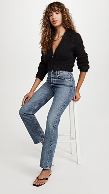 The Marc Jacobs Hairy Cropped Mohair Cardigan