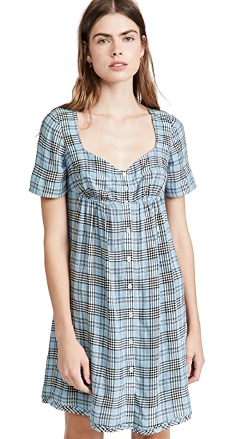 The Marc Jacobs Bustier Button Down Dress