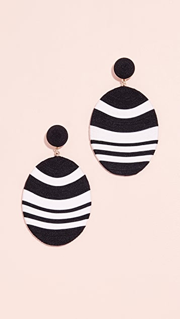 Mary Jane Large Size Newton Earrings
