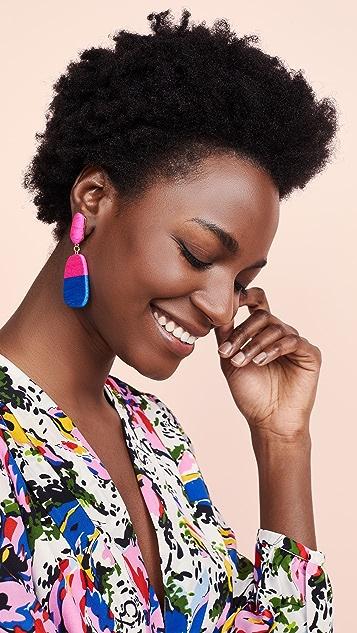 MaryJane Claverol Small New Rio Earrings