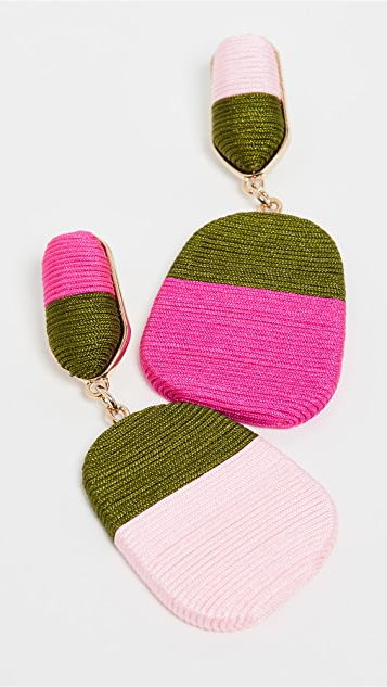 MaryJane Claverol Small New Rio Earrings