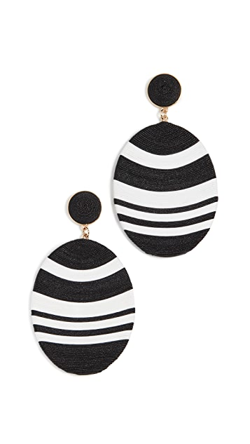 MaryJane Claverol Large Newton Earrings