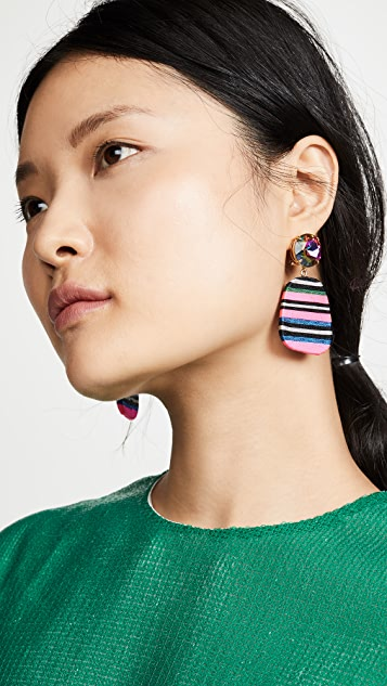 MaryJane Claverol Small Petrova Earrings