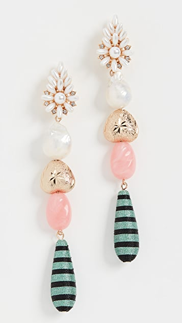 MaryJane Claverol Pinata 耳环