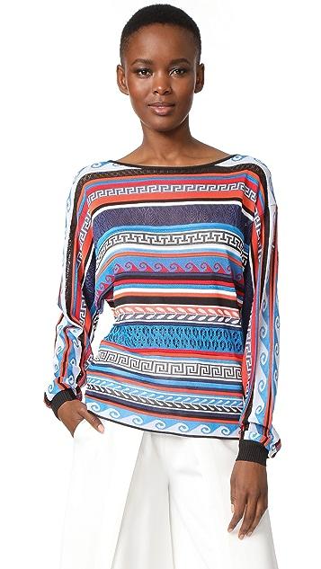 Mary Katrantzou Leon Sweater