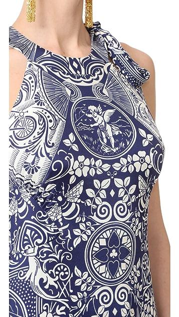 Mary Katrantzou Poker Dress