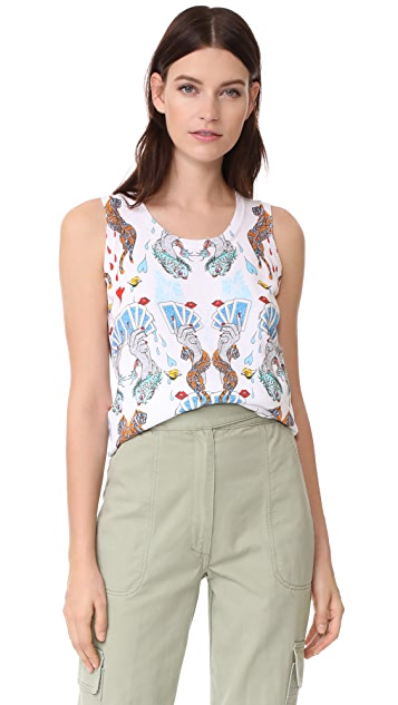 Mary Katrantzou Spades Knit Top