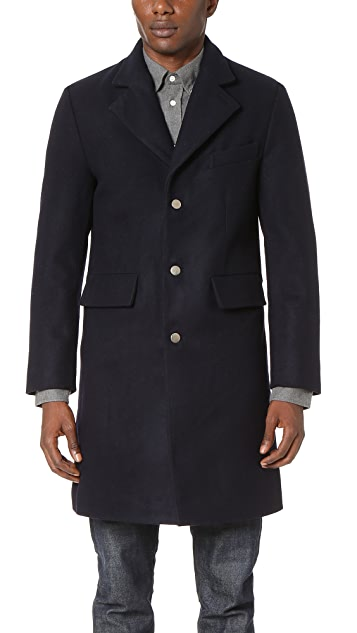 MKI Melton Single Overcoat