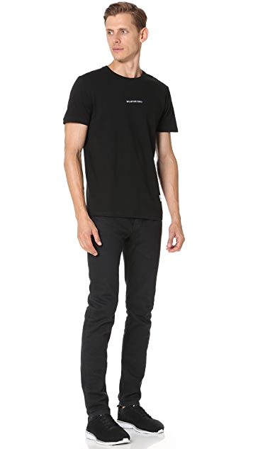 MKI Embroidered Logo Tee