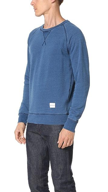 MKI Indigo Dyed Sweatshirt
