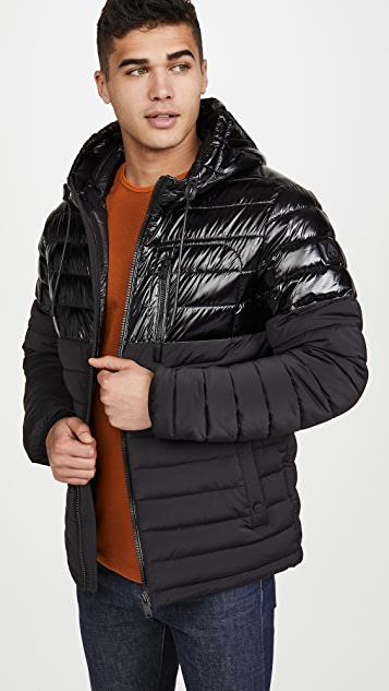 Moose Knuckles Roper Hooded Full Zip Jacket