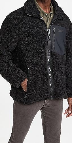 Moose Knuckles - Saglek Sherpa Zip Up Jacket