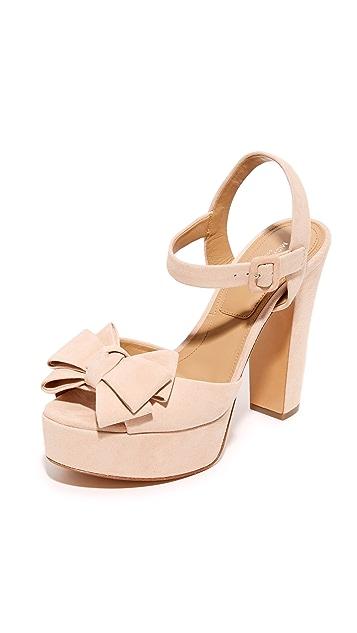 Michael Kors Collection Lexington Platform Sandals