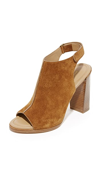 Michael Kors Collection Maeve Open Toe Booties