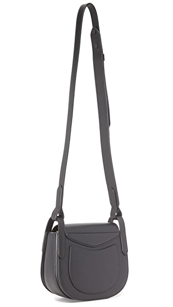 Michael Kors Collection Daria Small Cross Body Saddle Bag