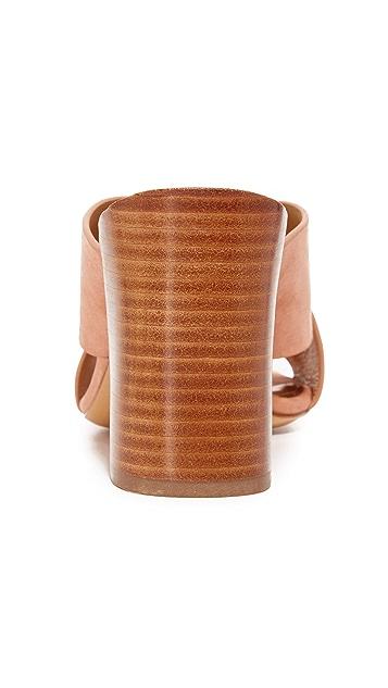 Michael Kors Collection Brianna Crisscross Mules