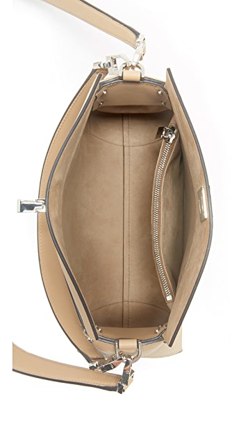 Michael Kors Collection Miranda Top Lock Shoulder Bag