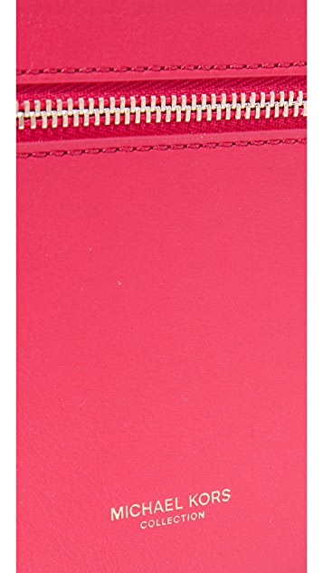 Michael Kors Collection Large Zip Card Case