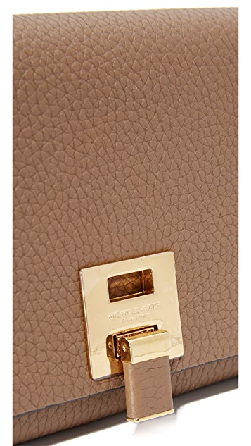 aef2ea412884 Michael Kors Collection Bancroft Continental Wallet | SHOPBOP