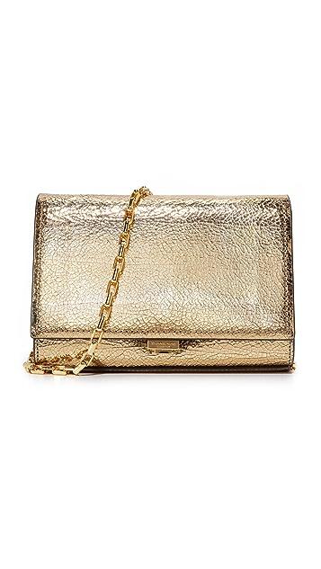 Michael Kors Collection Yasmeen Crackle Clutch