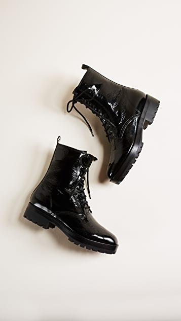 Michael Kors Collection Gita Combat Boots