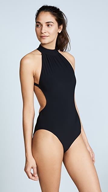 Michael Kors Collection High Neck One Piece