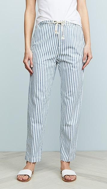 MKT Studio Очаровательные брюки в полоску