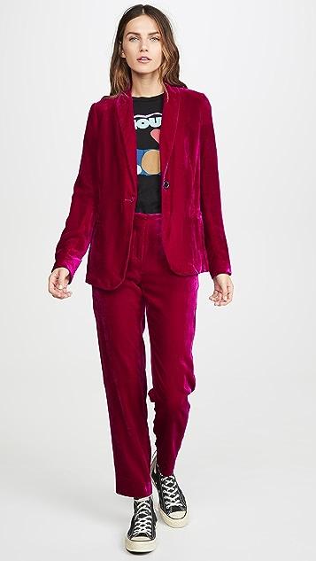 MKT Studio Veuco 天鹅绒西装外套