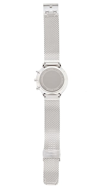 Michael Kors Jaryan Metal Mesh Chronograph Watch