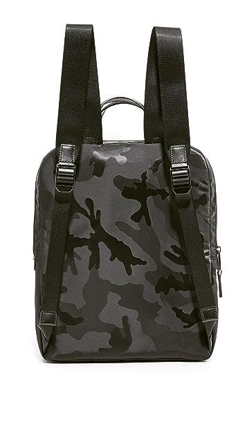 Michael Kors Kent Camo Nylon Medium Flight Backpack