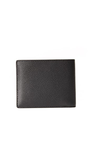 Michael Kors Harrison Leather Billfold with ID Window