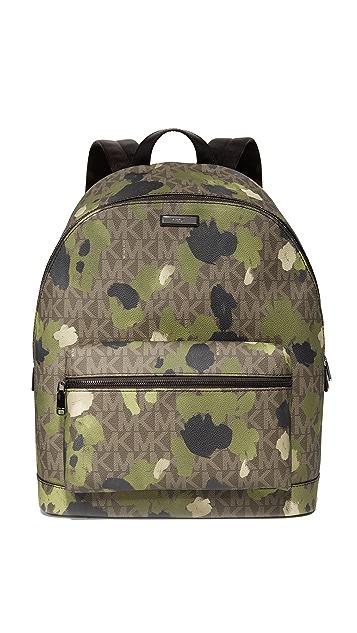 fcfeb984df69 Michael Kors Jet Set Painterly Camo Backpack
