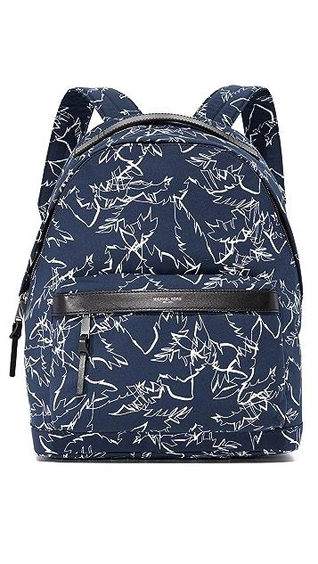 Michael Kors Grant Palm Print Backpack