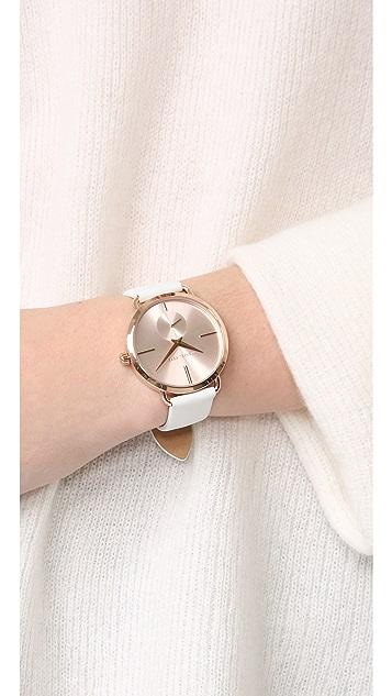 Michael Kors Partia Leather Watch