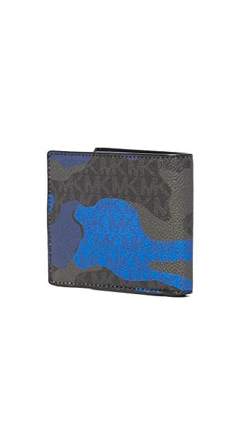 Michael Kors Jet Set Pop Camo Signature Billfold
