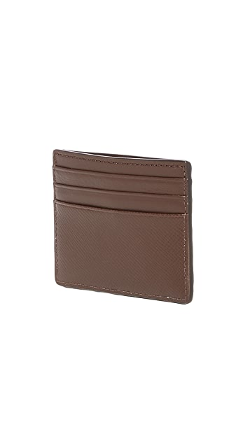 Michael Kors Harrison Leather Tall Card Case
