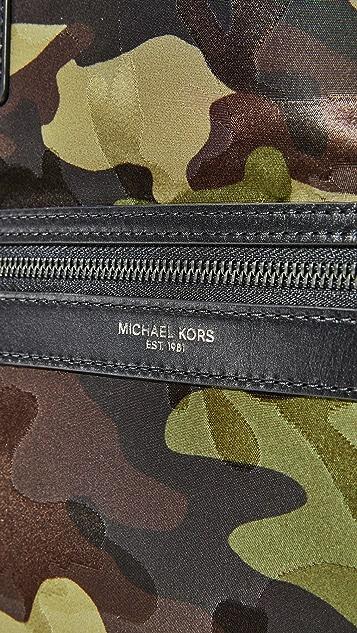 Michael Kors Kent Camo Nylon Reversible Tote