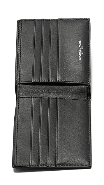Michael Kors Odin Leather Billfold