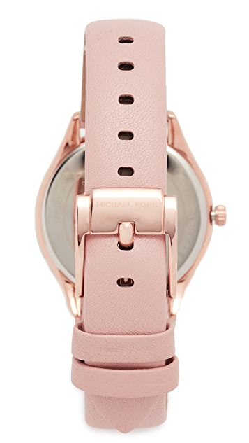 Michael Kors Lauryn Leather Watch