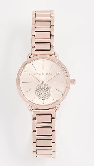 Michael Kors Petite Portia Watch, 28mm
