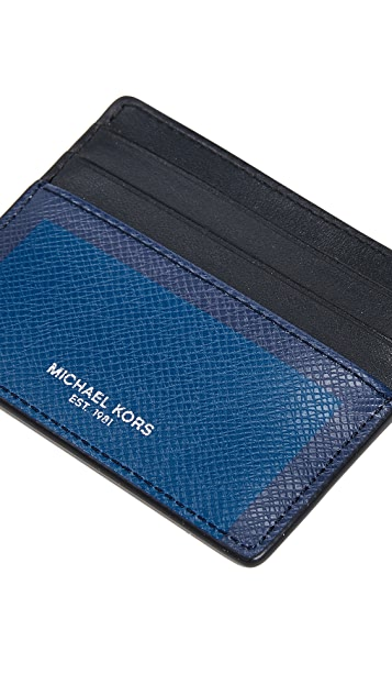 Michael Kors Harrison Tall Card Case