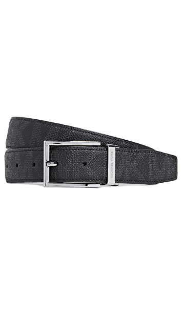 Michael Kors Belts Shadow SIG PVC Reversible SIG Belt