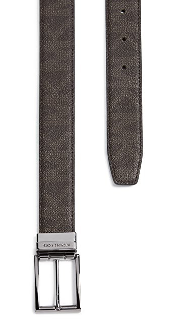 Michael Kors Belts Shadow SIG PVC Reversible SIG Belt