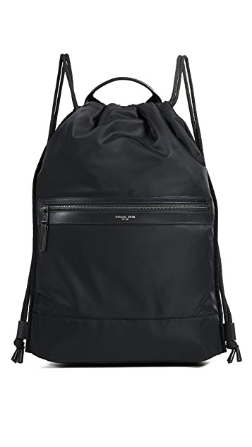 3c36ccdecdb4 Michael Kors Kent Flat Drawstring Backpack | EAST DANE