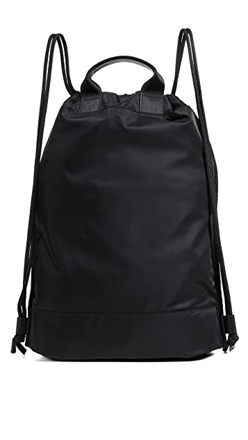 Michael Kors Kent Flat Drawstring Backpack