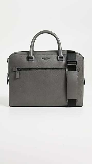 Michael Kors Harrison MD FT Zip Briefcase