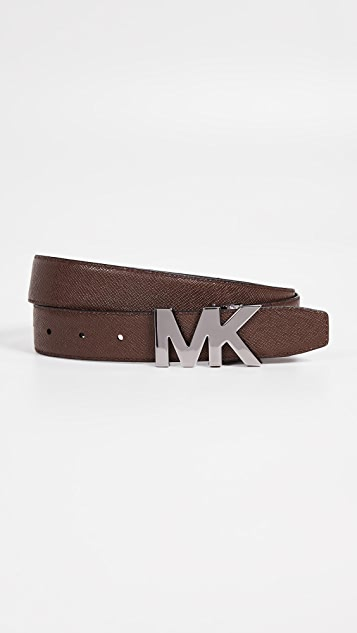 Michael Kors 31mm Reversible MK Hardware Belt