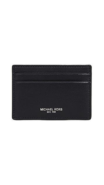 Michael Kors Bryant Card Case with Money Clip