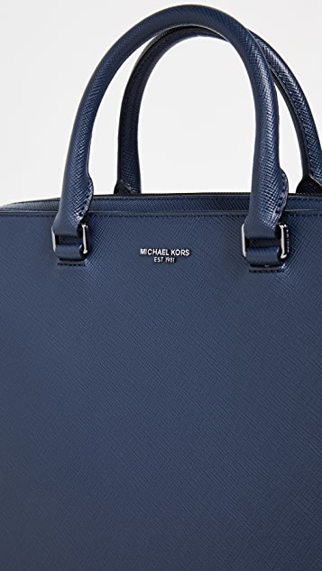 Michael Kors Harrison Double Gusset Briefcase