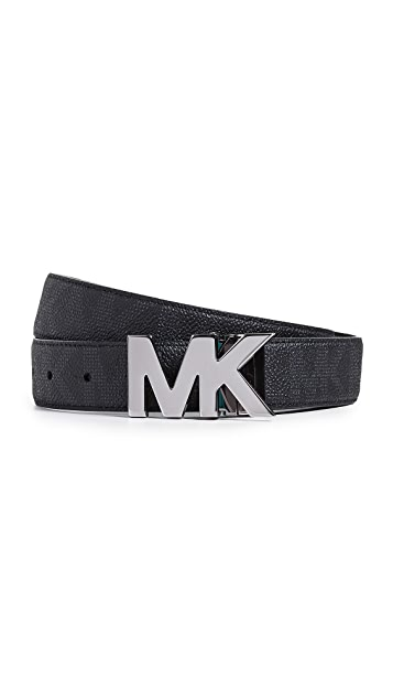 Michael Kors Reversible MK Hardware Belt